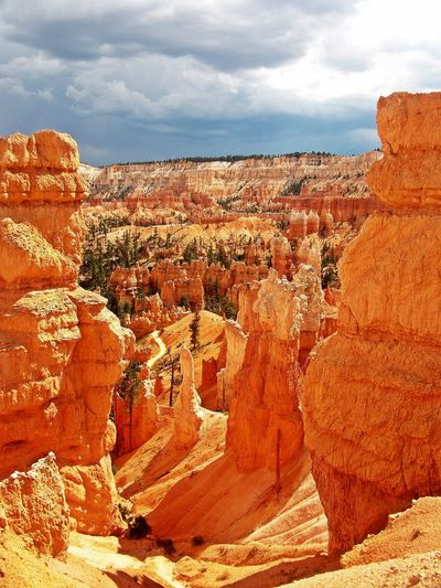 My Best Travel Photo Arid Climate Beauty In Nature Bryce Canyon National Park Climate Cloud - Sky Day Environment Eroded Formation Geology Nature No People Non-urban Scene Outdoors Physical Geography Rock Rock - Object Rock Formation Scenics - Nature Sky Solid Tourism Tranquil Scene Tranquility Travel Travel Destinations My Best Photo Stay Out