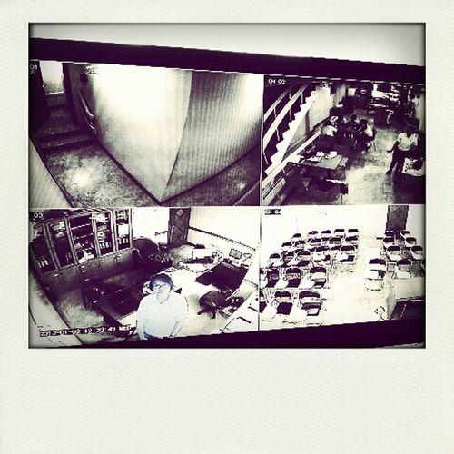 Camera Black And White Selfportrait Cctv