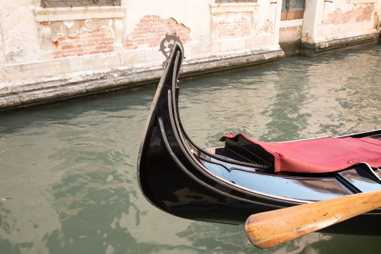 A Day in Venice Canal Front Of Gondola Gondola - Traditional Boat Nautical Vessel No People Transportation Travel Travel Destinations Travel Photography