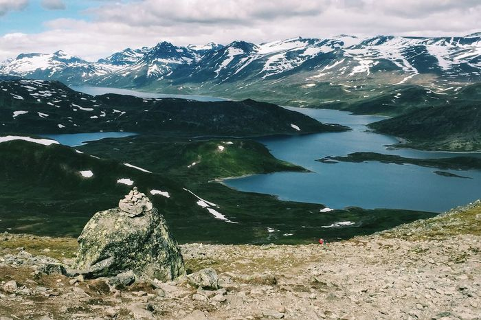 Jotunheimen - Norway On A Hike Mountain Goat Nature Enjoying The Sights The Great Outdoors EyeEm Awards 2015 Norway Visitnorway Jotunheimen Bitihorn Naturelovers