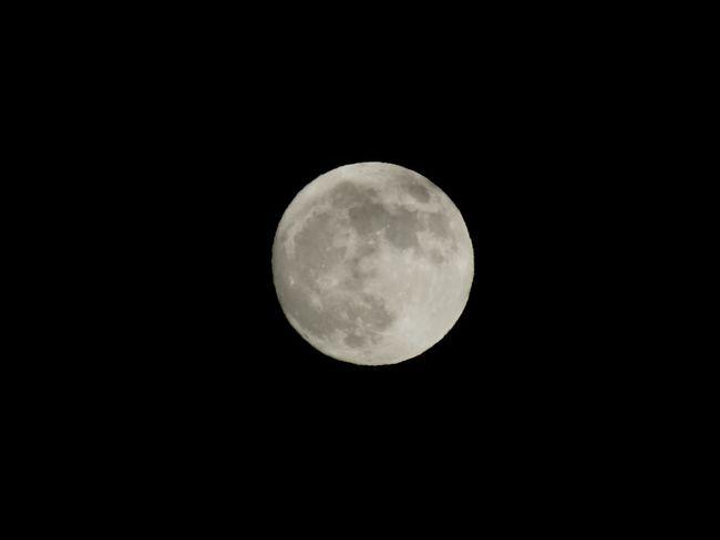 Moon Night Blackandwhite Full Moon