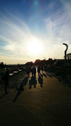 Sunshine Polaroid Enjoying Life Beach People People Walking  The Great Outdoors - 2015 EyeEm Awards