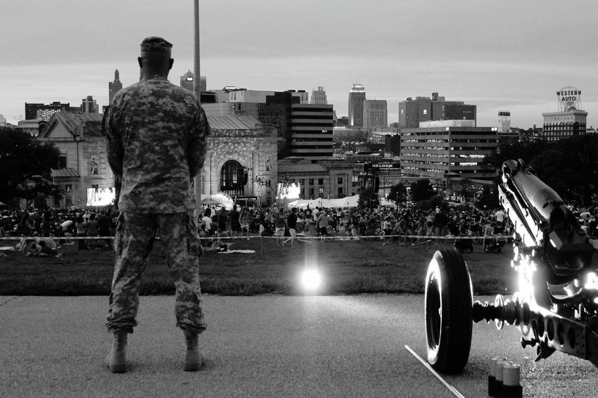 Army Army Life Army Strong Standing Watch Standing Guard Guard National Guard Memorial Day Liberty Memorial Kansas City Duty Life Liberty And The Pursuit Of Hapiness Volunteer Selflessness Selfless Service Military Military Life Tribute Honor Valor Missouri Union Station Field Artillery Cannon 75mm