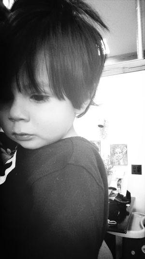 Blackandwhite Beautiful Kid Little Man