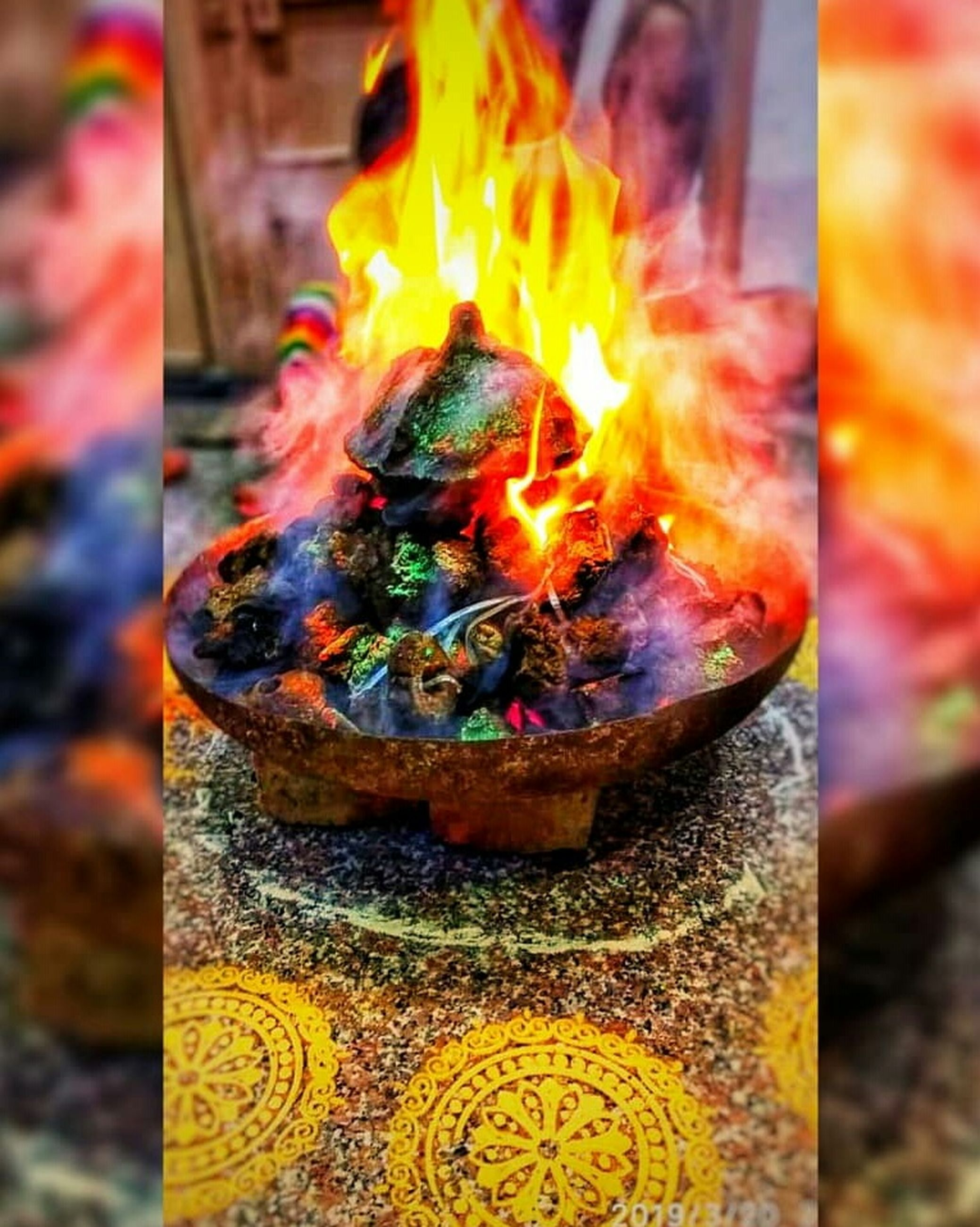 burning, fire, flame, heat - temperature, fire - natural phenomenon, nature, no people, spirituality, belief, close-up, religion, outdoors, glowing, motion, place of worship, architecture, art and craft, focus on foreground, environment, day