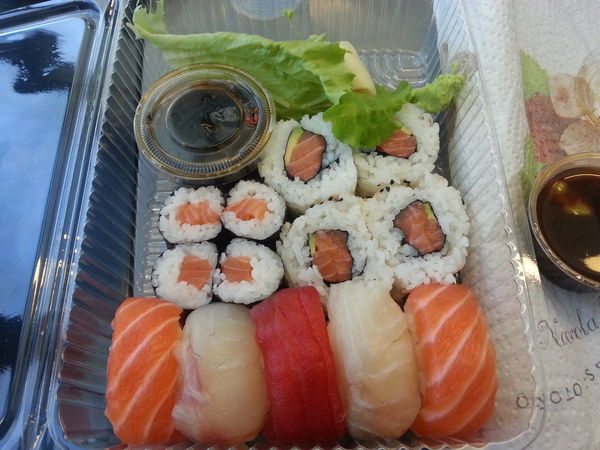Day Dinner Food Food And Drink Good Indoors  Italy Launch No People Oriental Ready-to-eat Salmon Sushi Sushi Time