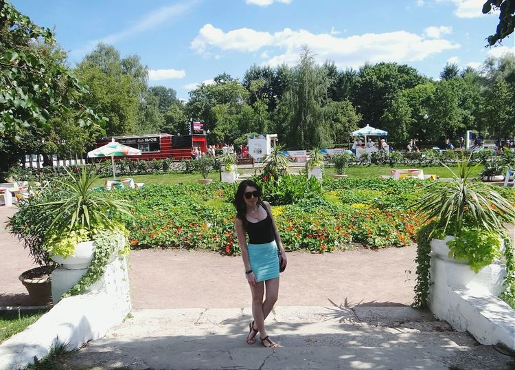 Moscow ПаркГорького Parkgorkogo Москва Girl Enjoying Life Beautiful Day Memories Summer2014