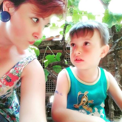 With my little prince Godson Summer Love Forever cute