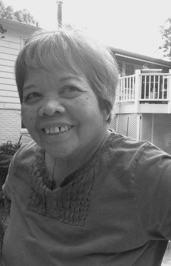 The Portraitist - 2016 EyeEm Awards Grandma Lola Smiling Summer Portrait Black And White