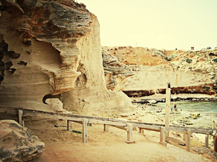 Formentera Cliffs Beach Life