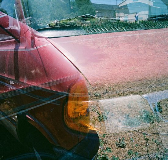 Outdoors Koduckgirl Film Car Lubitel 166+ Treasure Island Double Exposure
