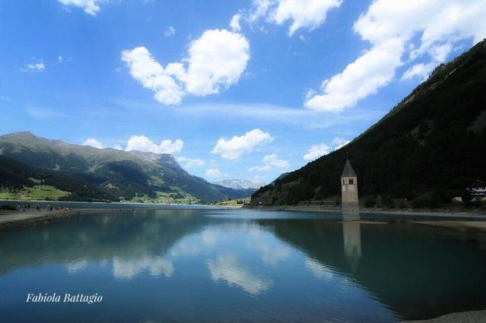 Lago di resia Nature Good Morning Lago Labellaitalia Italo