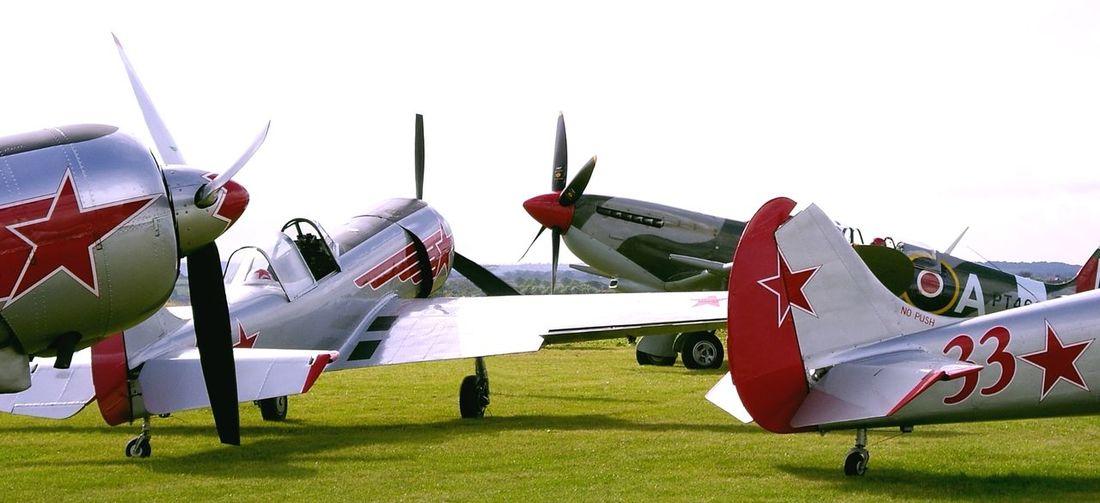 Spitfire Yak Ww2warbirds Ww2 Airplane Aircraft