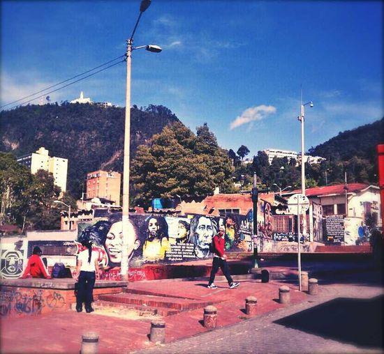 Street Art/Graffiti Street Scene Colombia