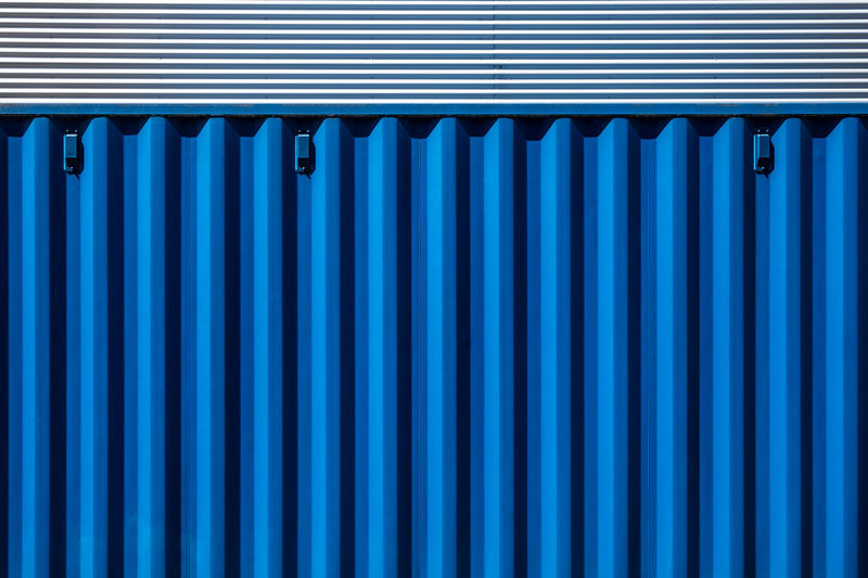 Bluemonday Minimalist Abstract Architecture Backgrounds Berlinmalism Blue Blue Monday Bluemonday Fujix_berlin Fujixe3 In A Row Minimalism Minimalistic Minimalobsession No People Pattern Ralfpollack_fotografie Repetition Side By Side Textured  Wall - Building Feature