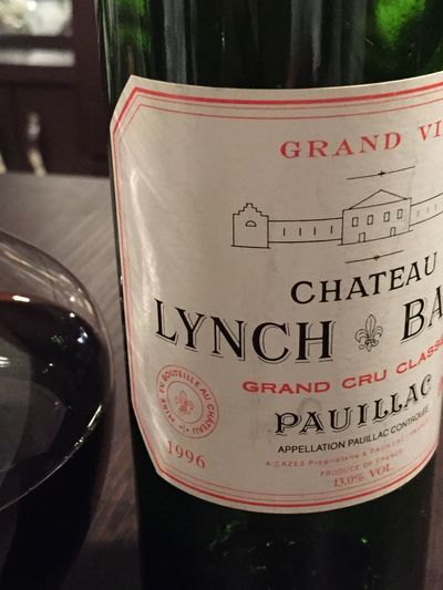 Wine Lynch Bage 1996 French Wine