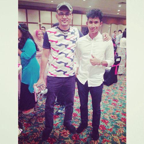 Graduation night with Encik Fadzil.