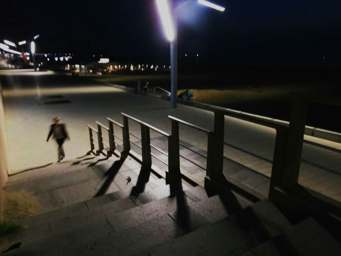 Getting Inspired Light And Shadow Nightphotography Creative Light And Shadow Streetphotography Stairs