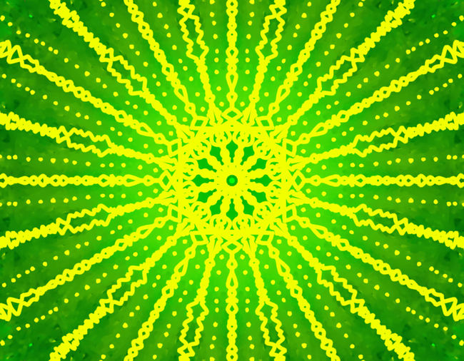 Full frame shot of multi colored yellow pattern