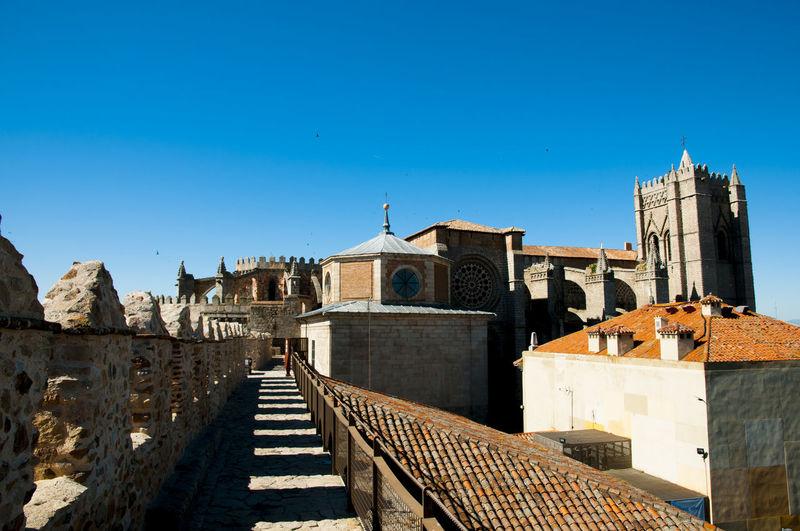 Wall of Avila SPAIN España Wall Avila
