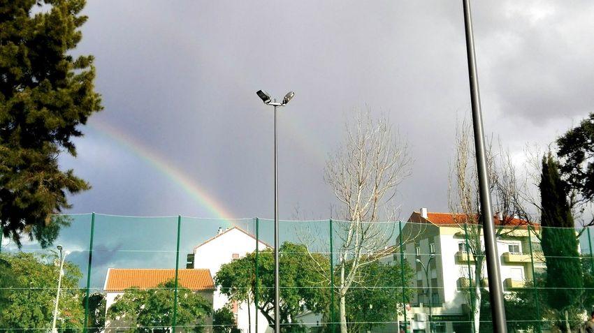 Double rainbow 🌈🌈 Rainbow Double Rainbow Rainbow Sky Rainbows Rainbow Colors Rainy Days Rainy Season Rainbown Photography Sky Nature Day Photo Of The Day Huaweiphotography Huawei P8 Lite. Edited