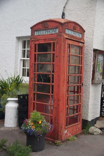 England🇬🇧 Telephone Box Old School