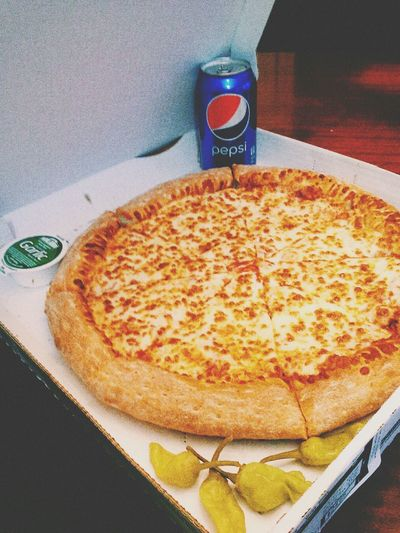 I aint got no type, pizza is the only thing that I like...