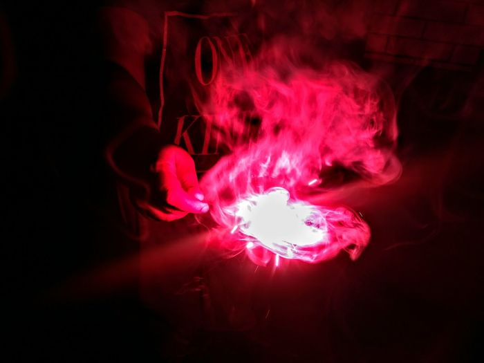 One Person Red Human Hand Only Men People Indoors  Close-up Smoky Red Hot Indian Festival Mobile Photography Red Beauty Fusion Diwali 2017 Flares🎆🎆 Firework Sparkler Firework Display Long Exposure Pink Color Red Queen Outdoors Illuminated Awe Sparks