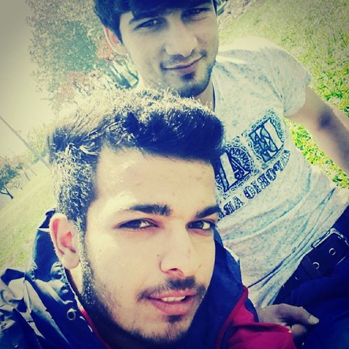 With my best friend Mojtaba