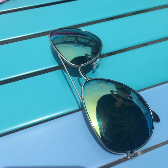Lines Blue Close-up Outdoors Reflection Summer Vibes Sunglasses Sunlight Swimming Pool