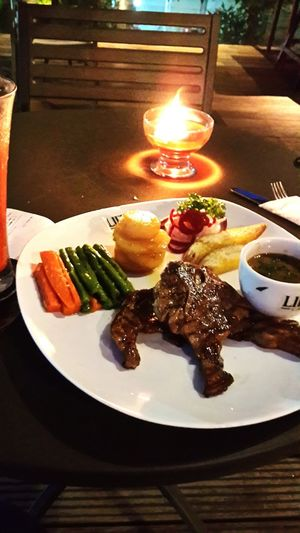 Grilled Lamb Chop Food Yummy EyeEm Enjoying Life Liep's Cafe Android Photos EyeEm Best Shots
