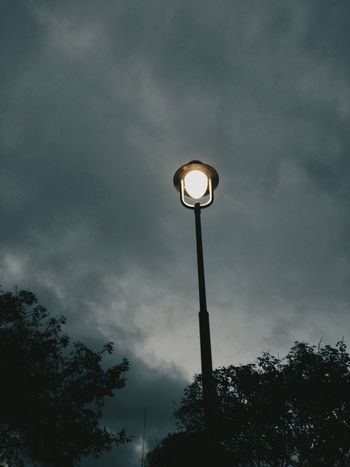 Sky Low Angle View Street Light Tranquility Dramatic Sky Cloud - Sky Illuminated Outdoors Long Goodbye Welcome To Black EyeEmNewHere Sommergefühle