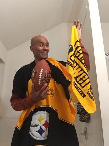The Week On EyeEm One Person Indoors  Smiling Happiness Lifestyles Football Steelers SteelersNation Steelers Pride  NFL Football NFL Experience