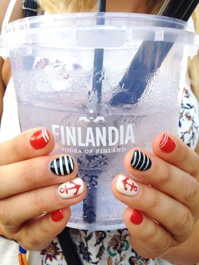 Finlandia Vodka Drink Party Festival Nail EnjoyTheLife