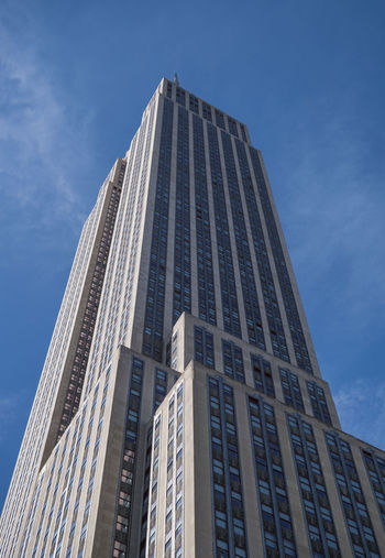 Skyscraper New York New York City Architecture Blue Building Building Exterior Built Structure City Clear Sky Day Modern No People Office Outdoors Sky Skyscraper Tall - High Tower Towers Window My Best Photo