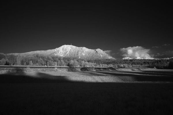Infrared view on the Grünten mountain Allgäu Grünten Infrared Beauty In Nature Day Infrared Photo Infrared Photography Infrarot Landscape Mountain Nature No People Outdoors Scenics Sea Sky Tranquil Scene Tranquility Water