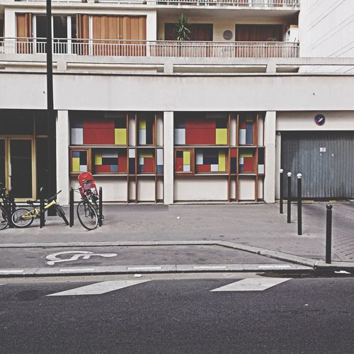 Colorful Paris The Architect - 2014 EyeEm Awards Street Photography Colored Bulding