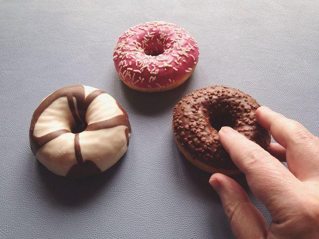 Hand Taking  Grabbing Doughnut Donut Male Temptation Food Things I Like