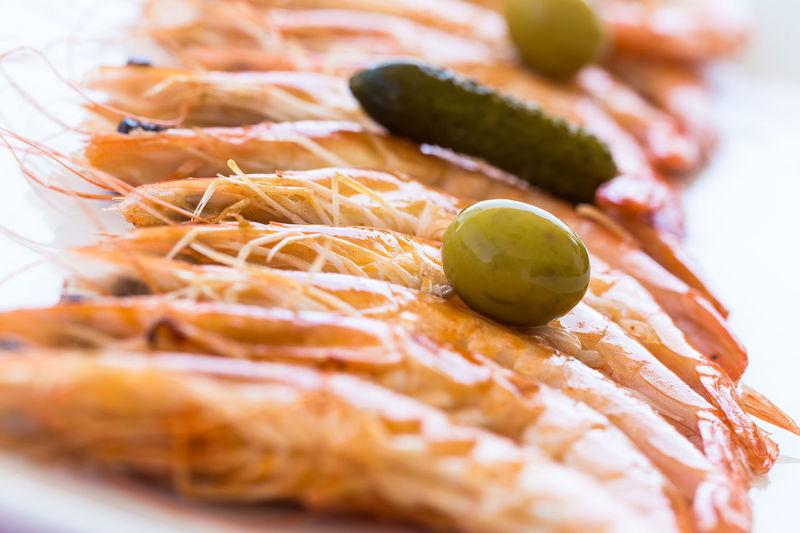 Gambas Isla Cristina. Huelva. Marisco Aceitunas Food Food And Drink Healthy Eating No People Ready-to-eat Seafood
