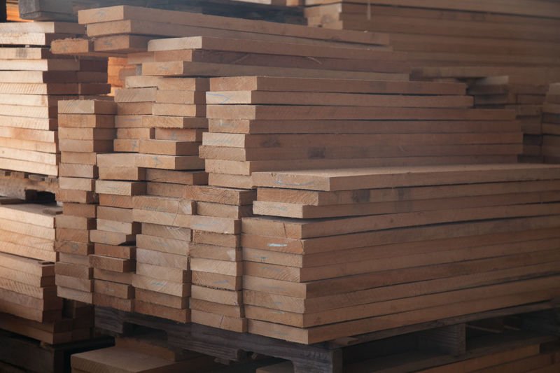 Full frame shot of wood stack