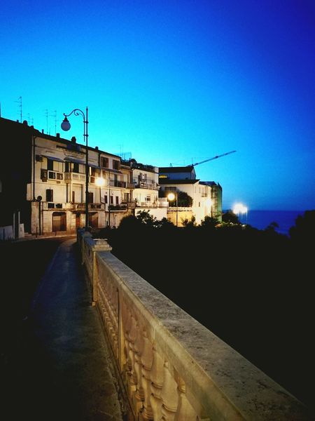 Passeggiata Orientale - Ortona Città Di Mare Italian Place Italy Notturni Abruzzo, Italia Paesaggi_ditalia Italy❤️ Italian_places Italianlandscape