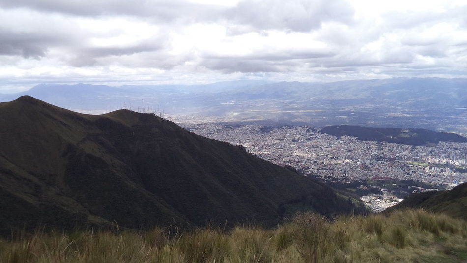 view of my city... it is so far and so close aparently.. Andean Andes Mountains Cityscapes Dramatic Light Far Far Away Hiking Landscape Mountain Nature Nature Lover Peace And Quiet Peaceful