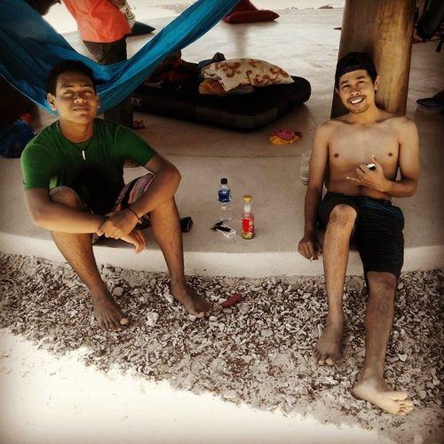 The Beach Boys: Rona and Andre Batupayungkertasari Taliwang Surfing Holiday