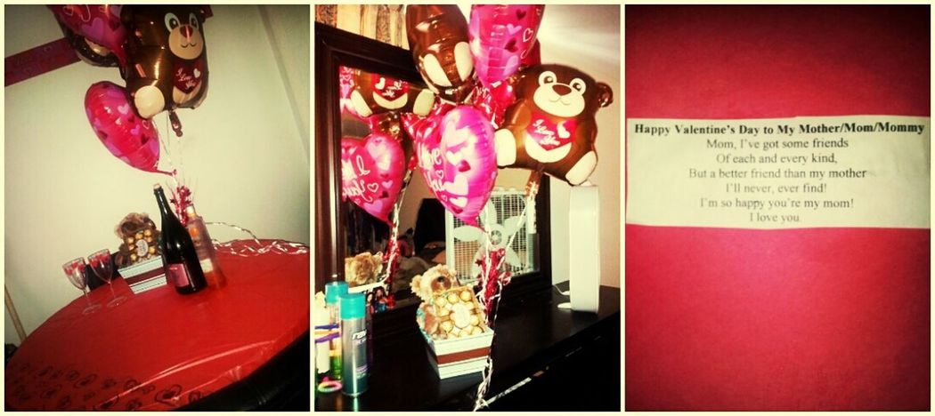 cant show the rest of my gifts but heres some of them... n the card my baby girl did for me :)