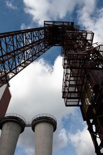 Architecture Cloud - Sky Industriedenkmal Schlägel & Eisen 3/4/7 Outdoors Schachtgerüst Und Grubenlüfter Sky