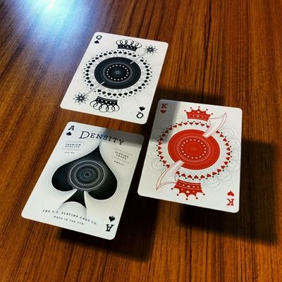 They'll be the King of Hearts, and you're the Queen of Spades! Densitydeck Playingcards