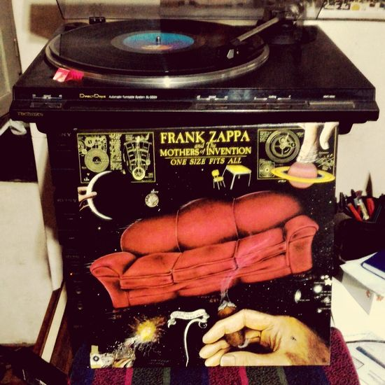 In Loving Memory Of Frank Zappa The Mothers Of Invention One Size Fits All 1975
