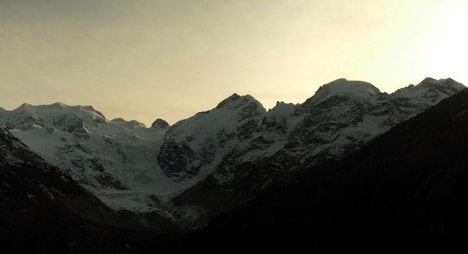 The Magic of Light Alpine Bernina Engadin Glacier Morteratsch Switzerland Pontresina Swiss Alps Zupo Landscape Magicoflight Majestic Mountain Range Tranquil Scene Tranquility Switzerland Hiking Olympus OM-D EM-1