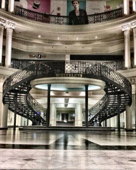 London Bayswater Staircase Whitleys bayswater London