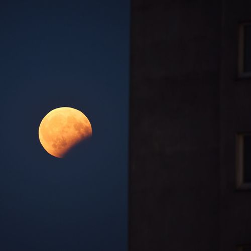 Moon Eclipse Night Zoom Block Estate Moon Surface Sky The Week On EyeEem Paint The Town Yellow